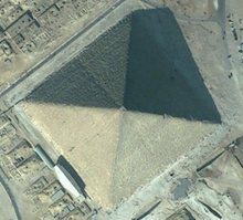 Pyramid from above