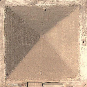 Great Pyramid from Above